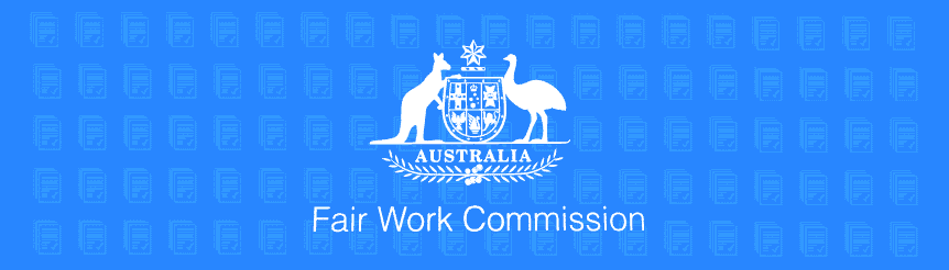 Fair Work Commission Logo relating to enterprise agreement approval